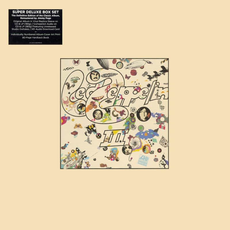 Led Zeppelin III (1970) Front
