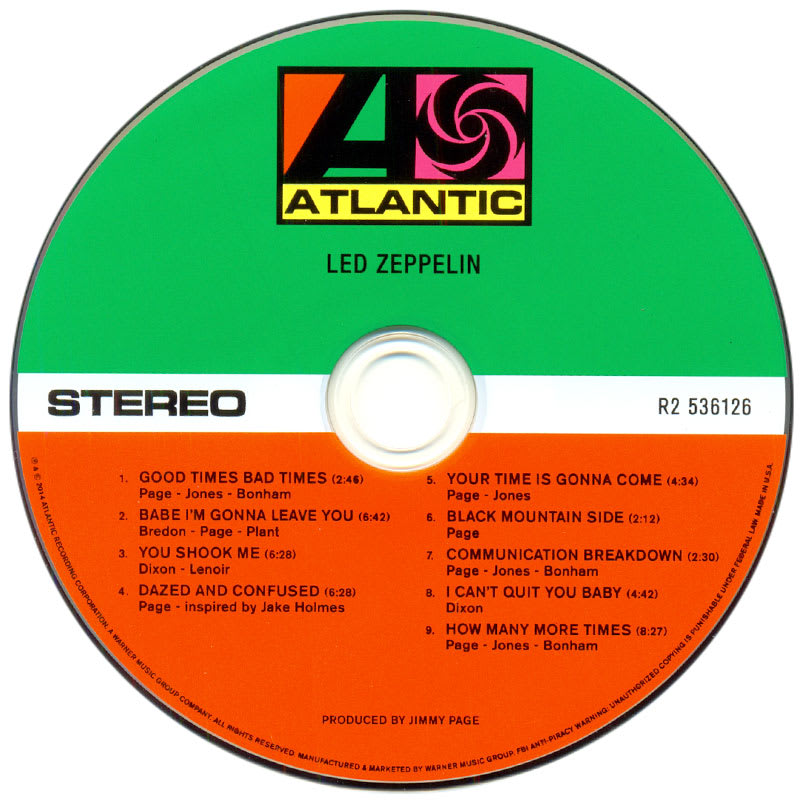 Led Zeppelin - Led Zeppelin (1969) CD1