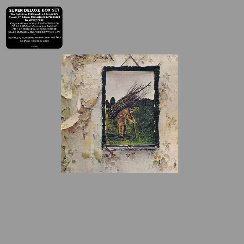 Led Zeppelin IV (1971) Front
