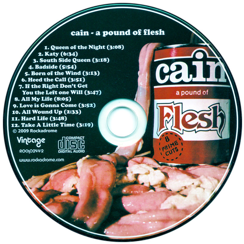Cain - A Pound Of Flesh (1975) CD