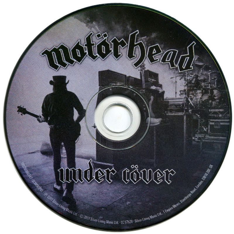 Motörhead – Under Cöver (2017) CD
