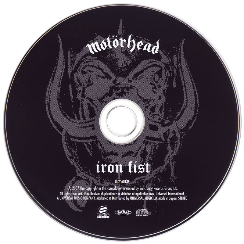 Motorhead – Iron Fist (1982) CD