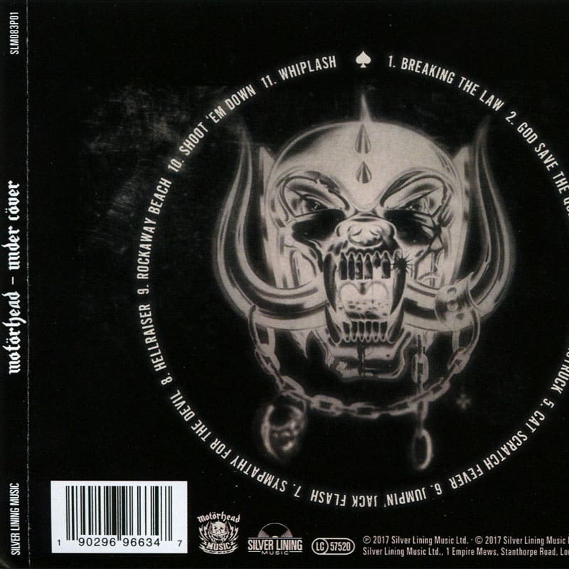 Motörhead – Under Cöver (2017) Back
