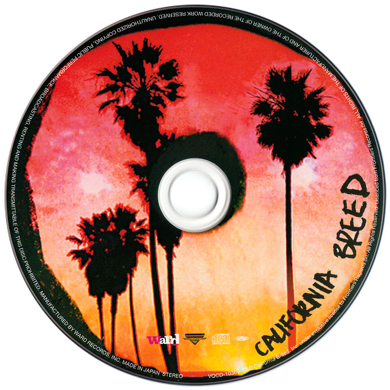 California Breed – California Breed (2014) CD