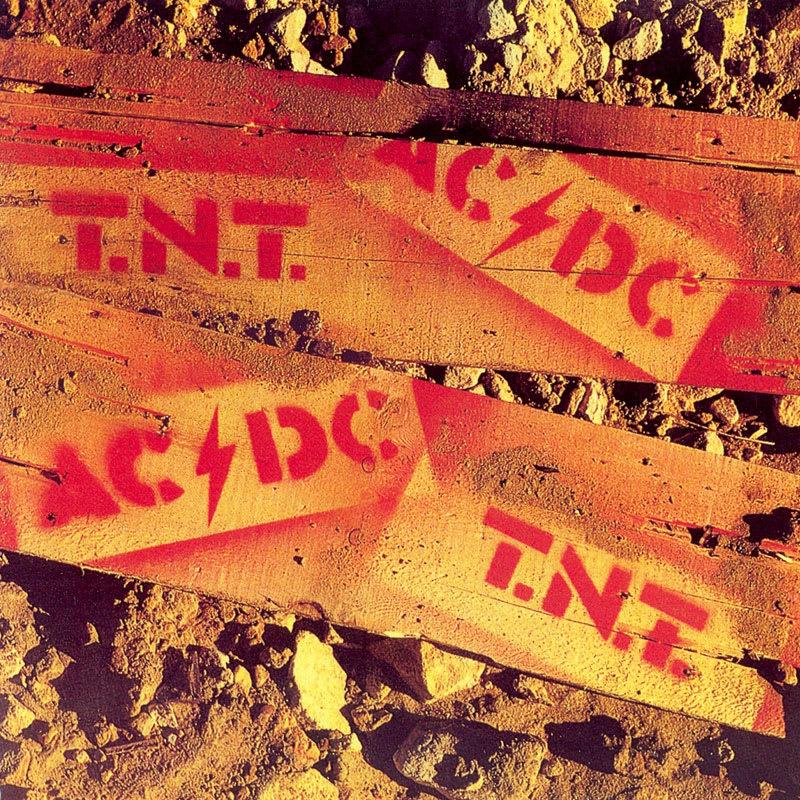 AC/DC - T.N.T. (1975) Front