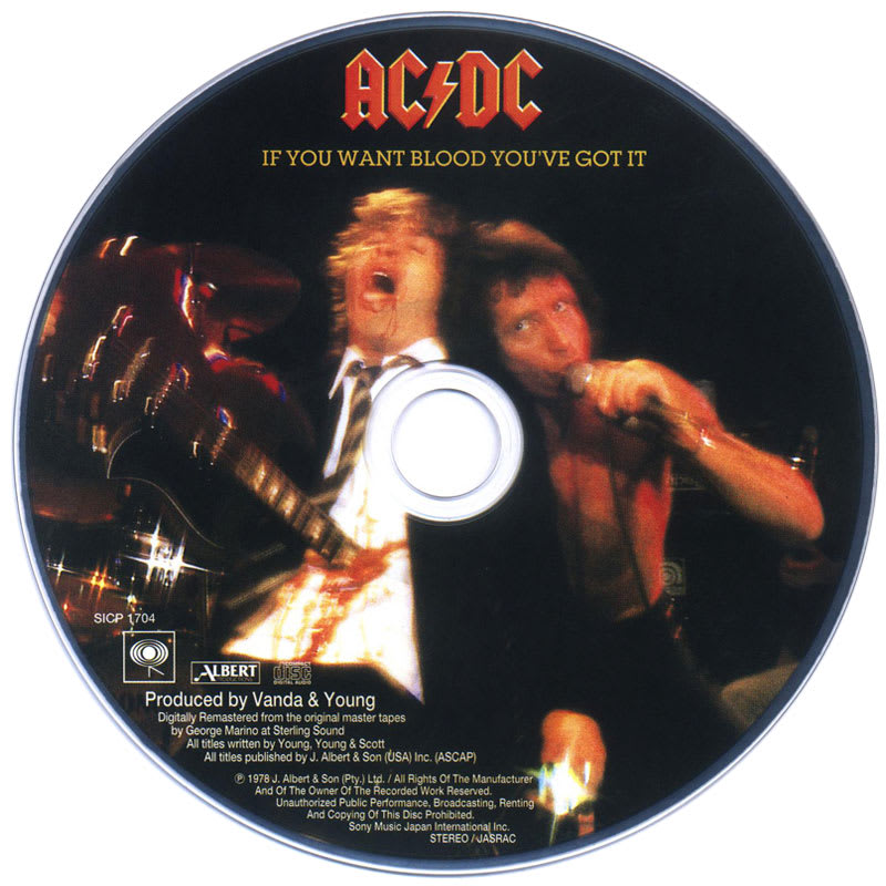 AC/DC - If You Want Blood You've Got It (1978) CD