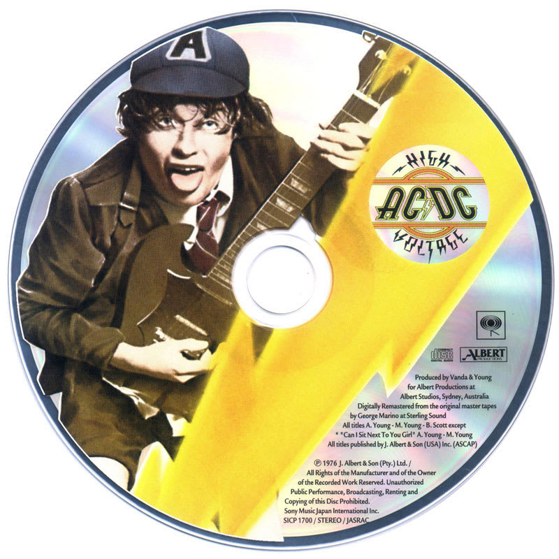 AC/DC - High Voltage (1976) CD