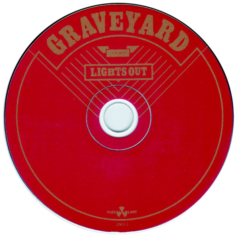 Graveyard - Lights Out (2012) CD