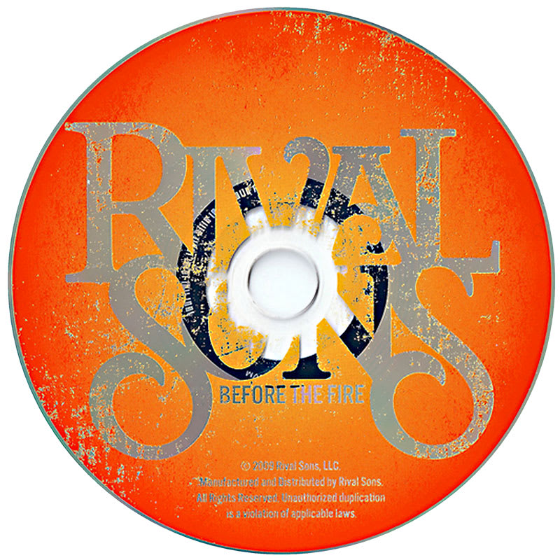 Rival Sons - Before The Fire (2009) CD