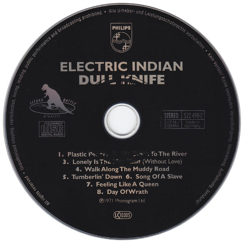 Dull Knife - Electric Indian (1971) CD