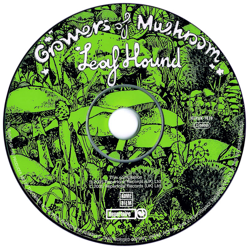 Leaf Hound - Growers Of Mushroom (1971) CD