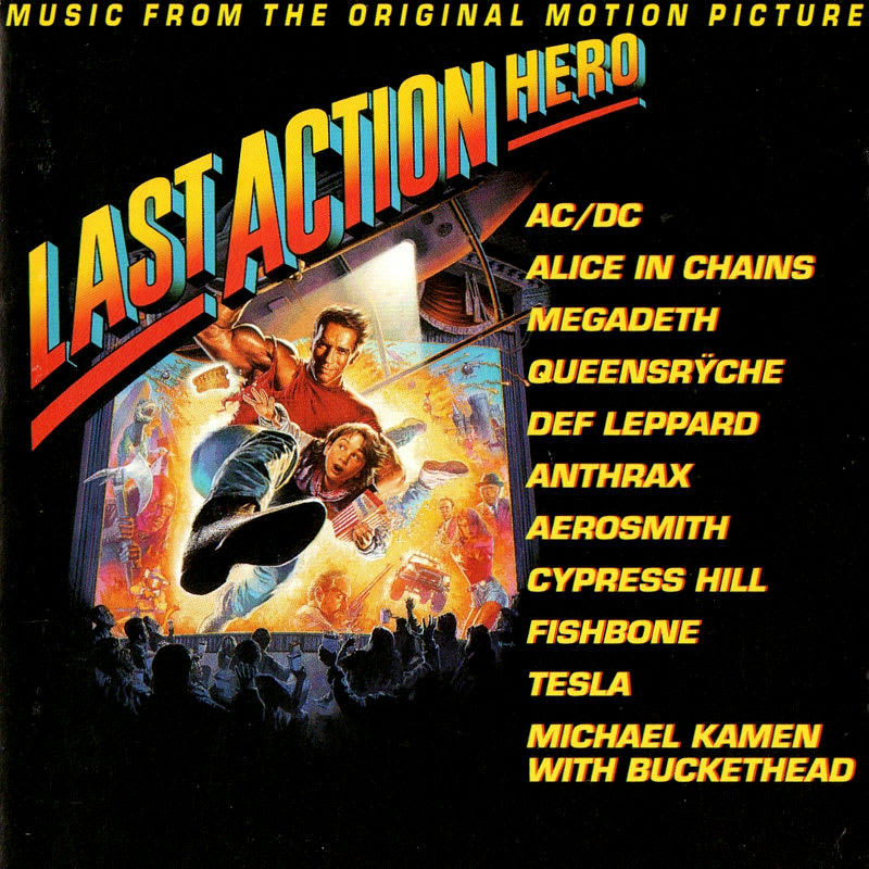 Various 1993 - Last Action Hero (Music From The Original Motion Picture) Front