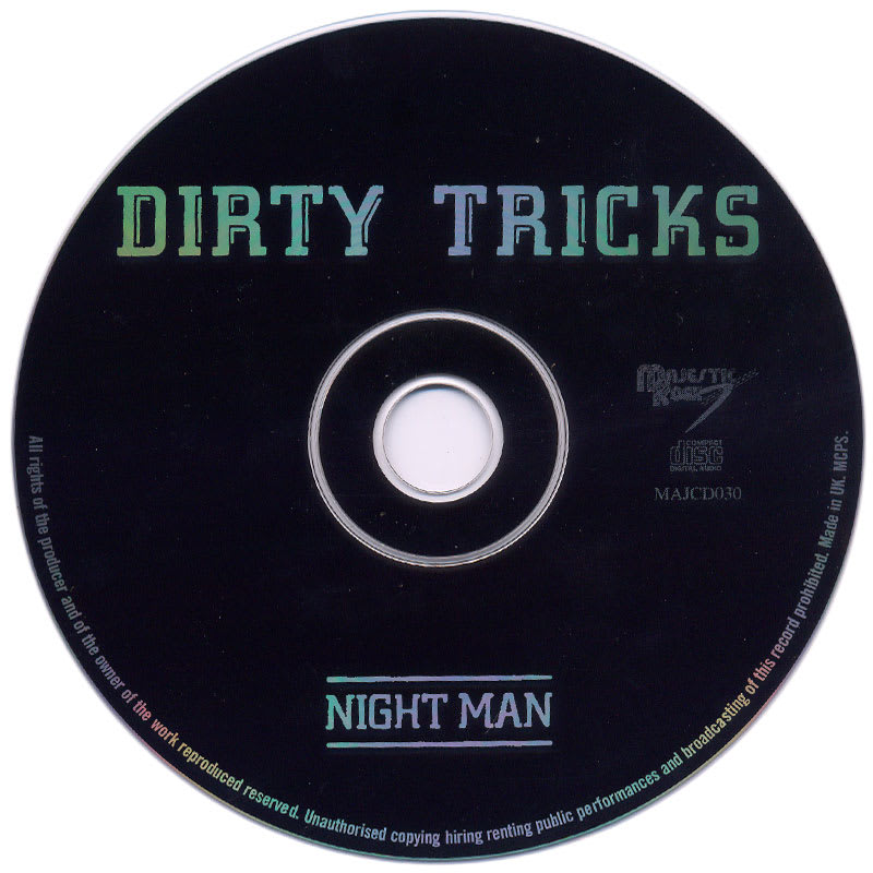 Dirty Tricks - Night Man (1976) CD