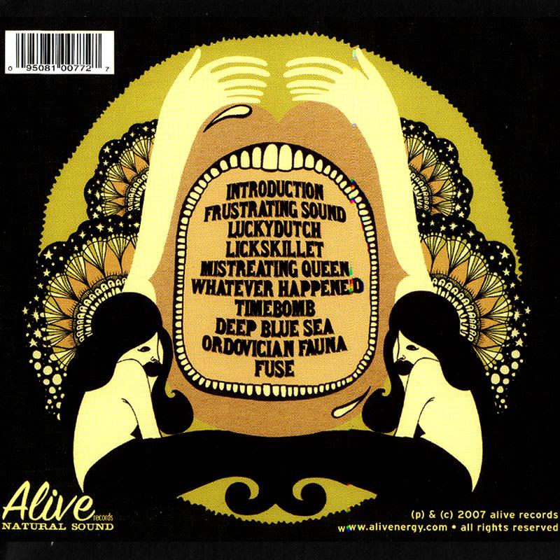 Radio Moscow - Radio Moscow (2007) Back