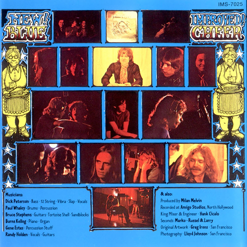 Blue Cheer – New! Improved! (1969) Back