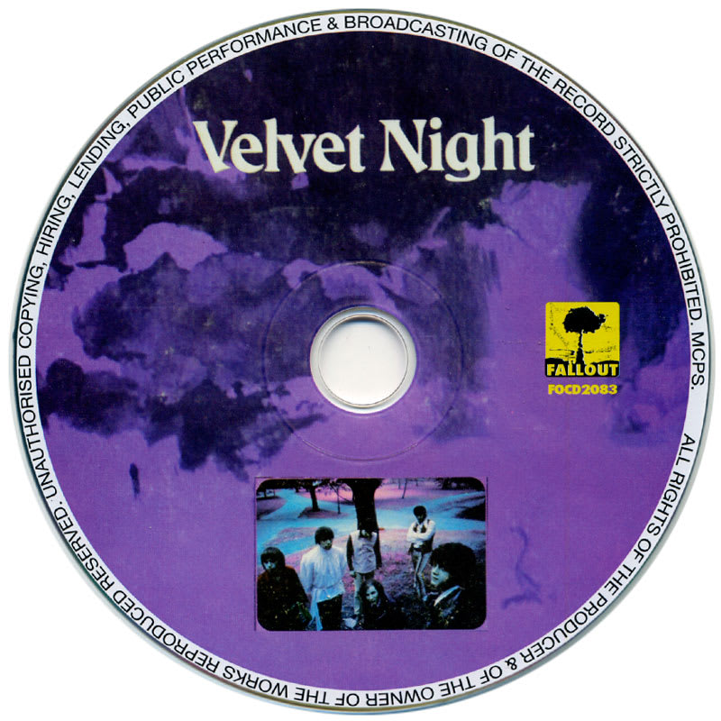Velvet Night - Velvet Night (1970) CD