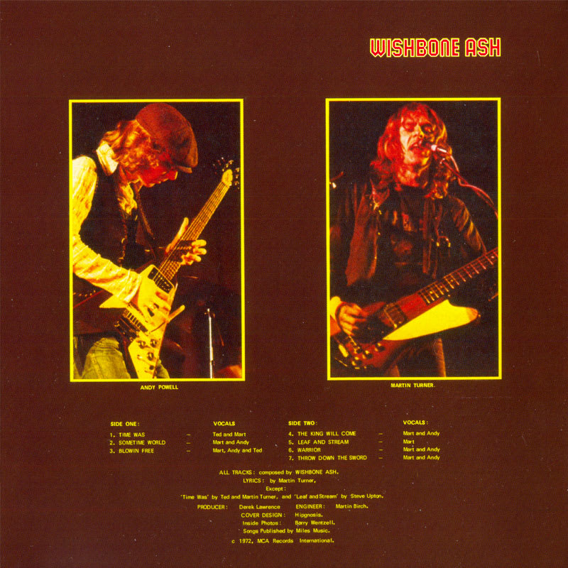 Wishbone Ash – Argus (1972) Inside 01