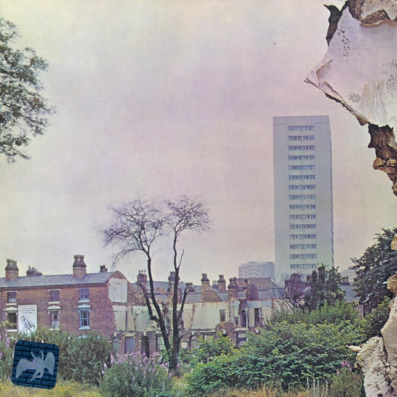 Led Zeppelin IV (1971) Back
