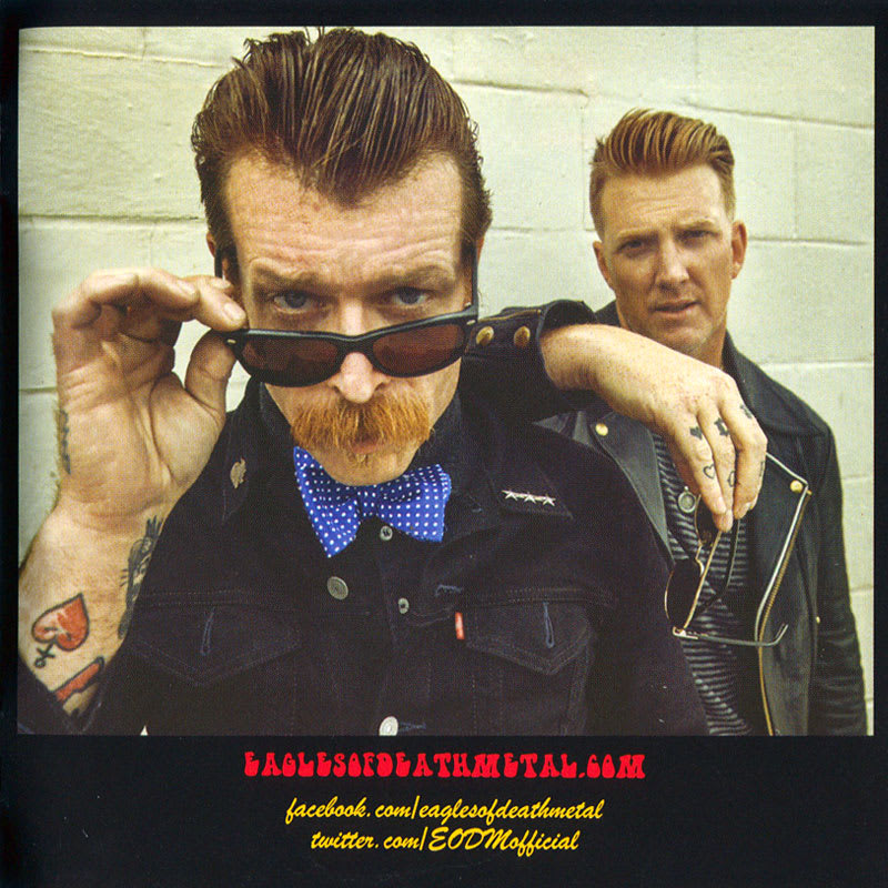 EODM (Eagles Of Death Metal) - Zipper Down (2015) Booklet