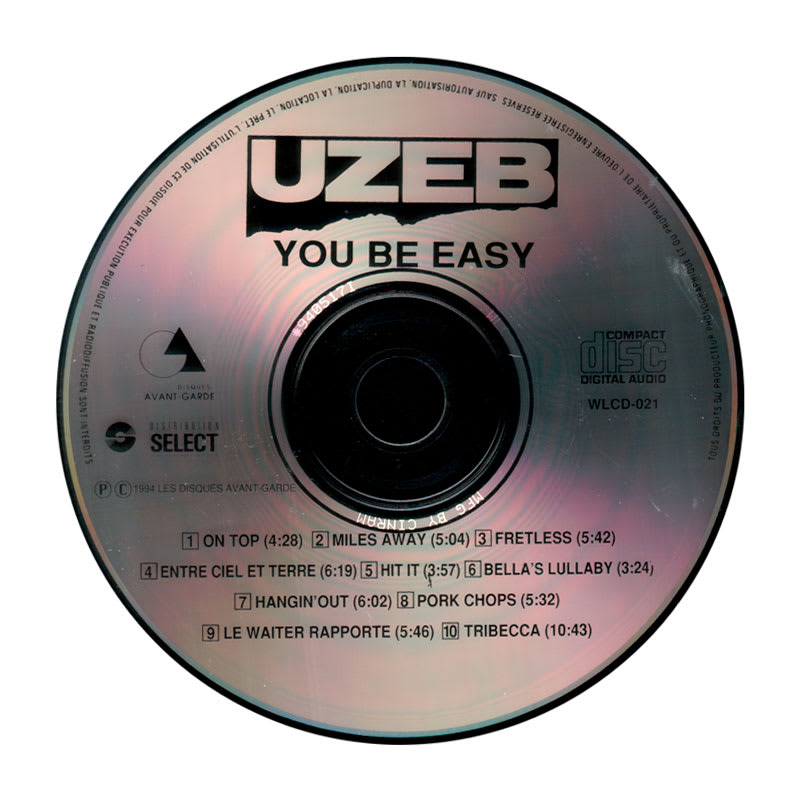 UZEB - You Be Easy (1984) CD