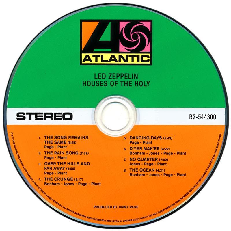 Led Zeppelin - Houses Of The Holy (1973) CD1