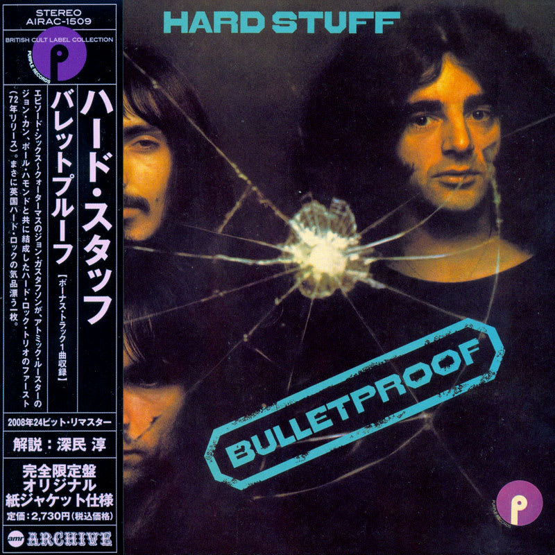 Hard Stuff - Bulletproof (1972) Front