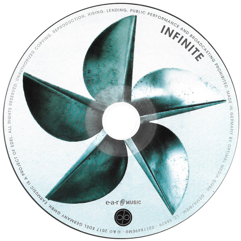 Deep Purple – InFinite (2017) CD
