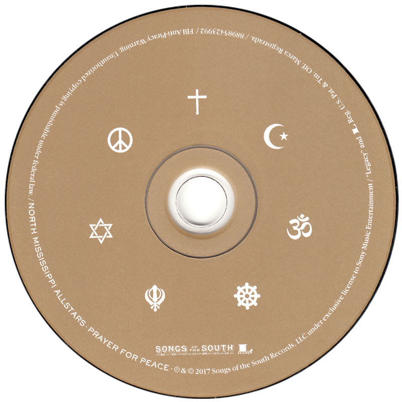 North Mississippi Allstars - Prayer For Peace(2017) CD