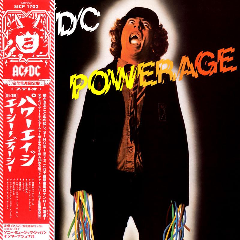 AC/DC - Powerage (1978) Front