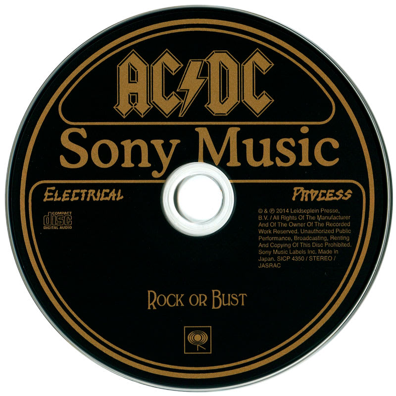 AC/DC – Rock or Bust (2014) CD