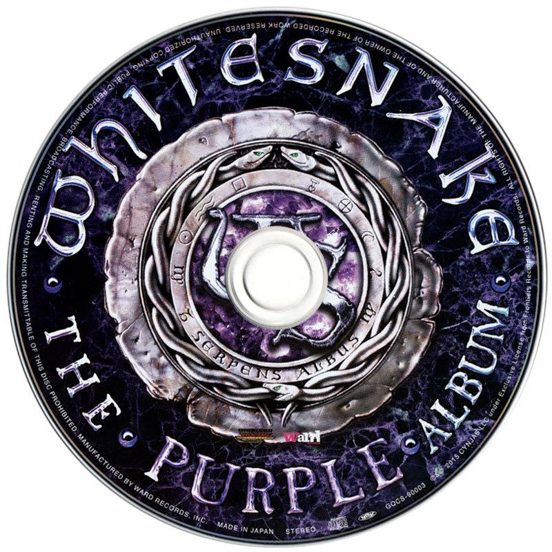 Whitesnake - The Purple Album (2015) CD