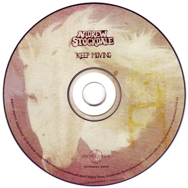 Andrew Stockdale - Keep Moving (2013) CD