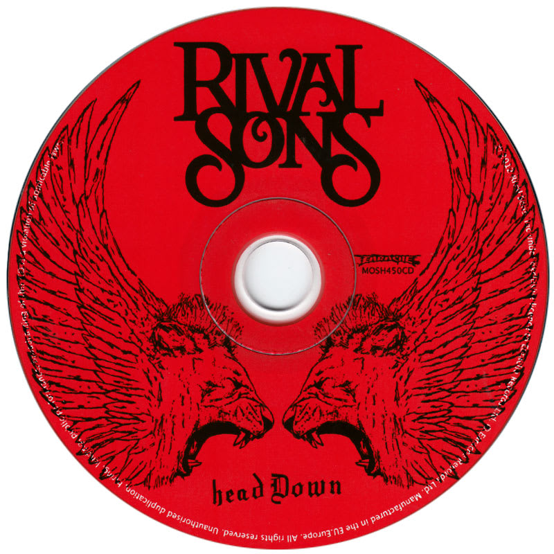 Rival Sons - Head Down (2012) CD