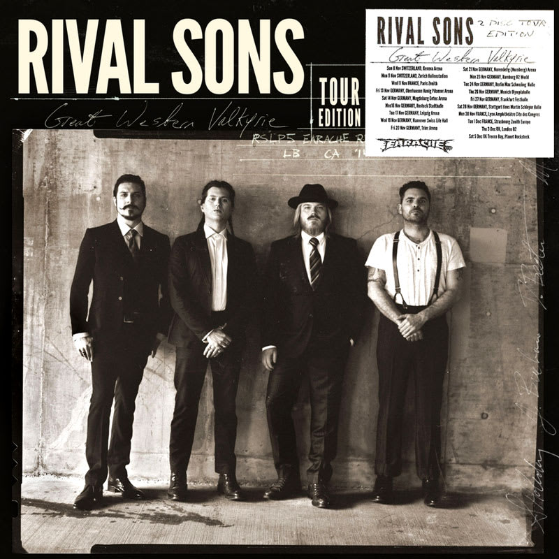 Rival Sons - Great Western Valkyrie (2014) Front