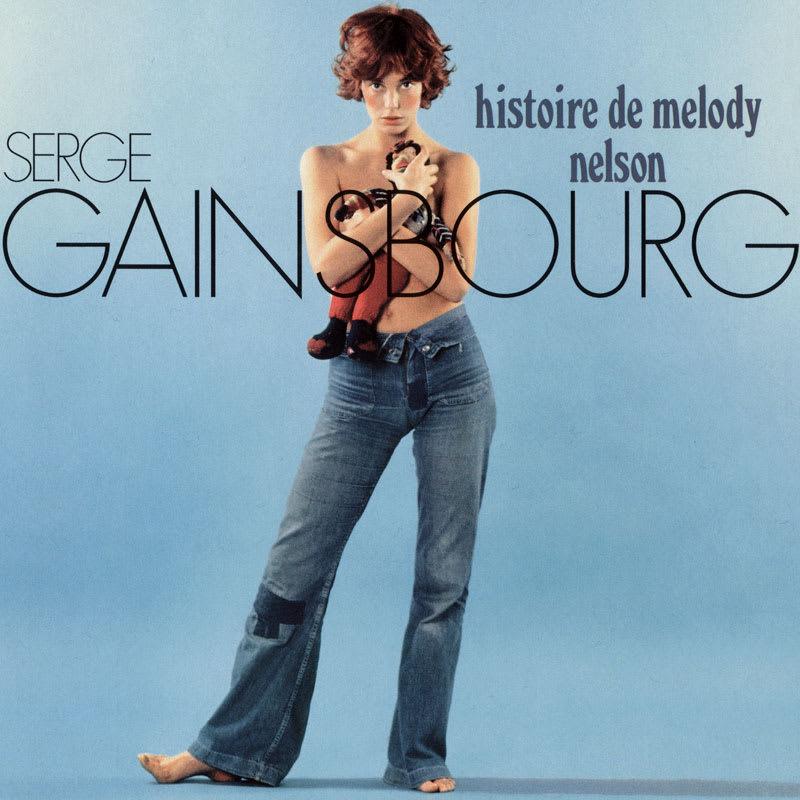 Serge Gainsbourg - Histoire de Melody Nelson (1971) Front