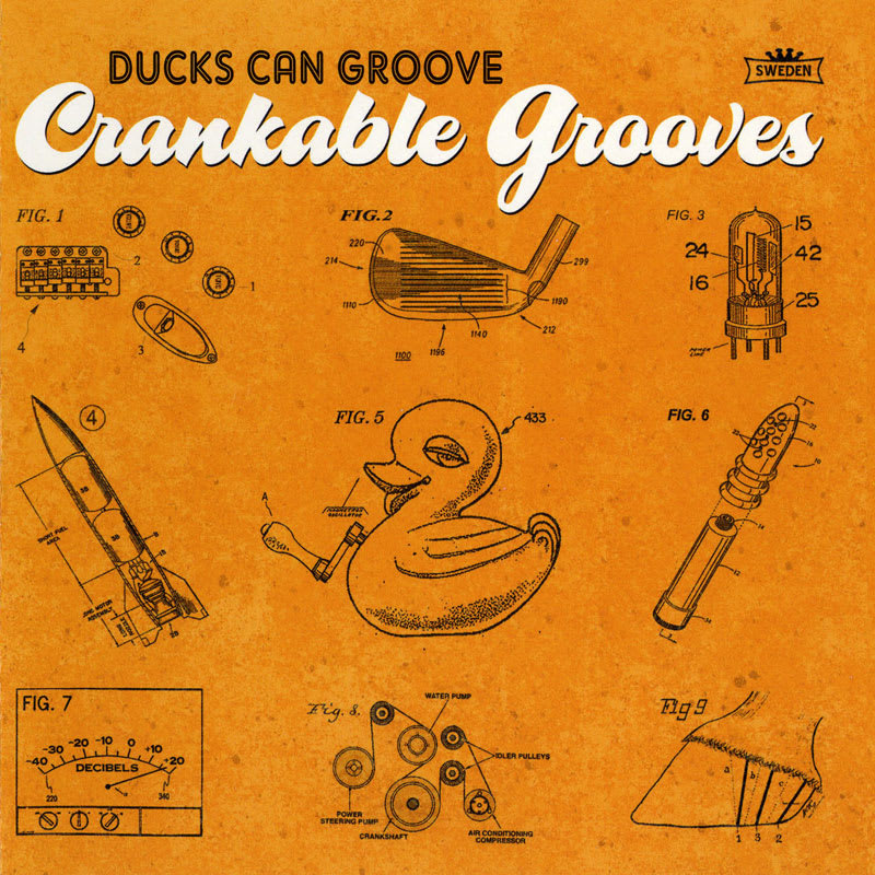 Ducks Can Groove - Crankable Grooves (2012) Front