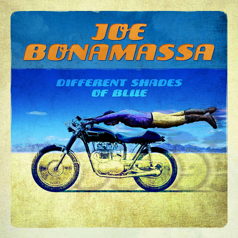 Joe Bonamassa - Different Shades Of Blue (2014) Front