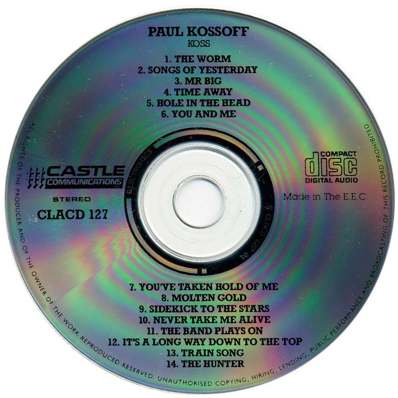 Paul Kossoff - Koss (1977) CD
