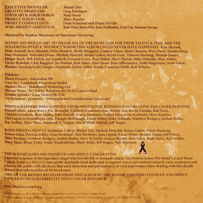 Ronnie James Dio: This Is Your Life – Various Artists [2014] Booklet