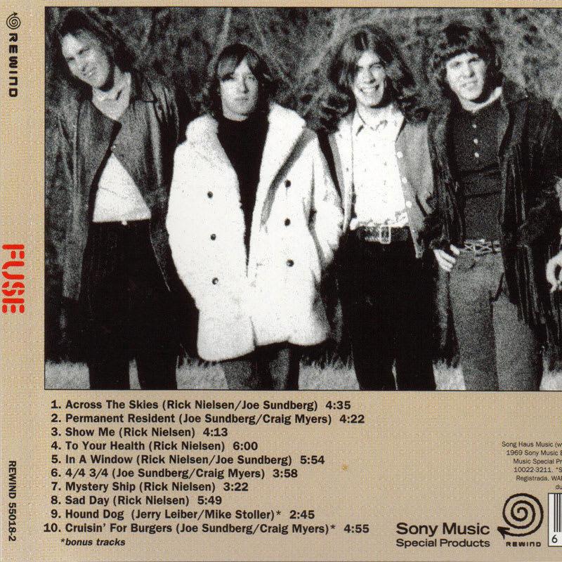 Fuse – Fuse [1970] Back
