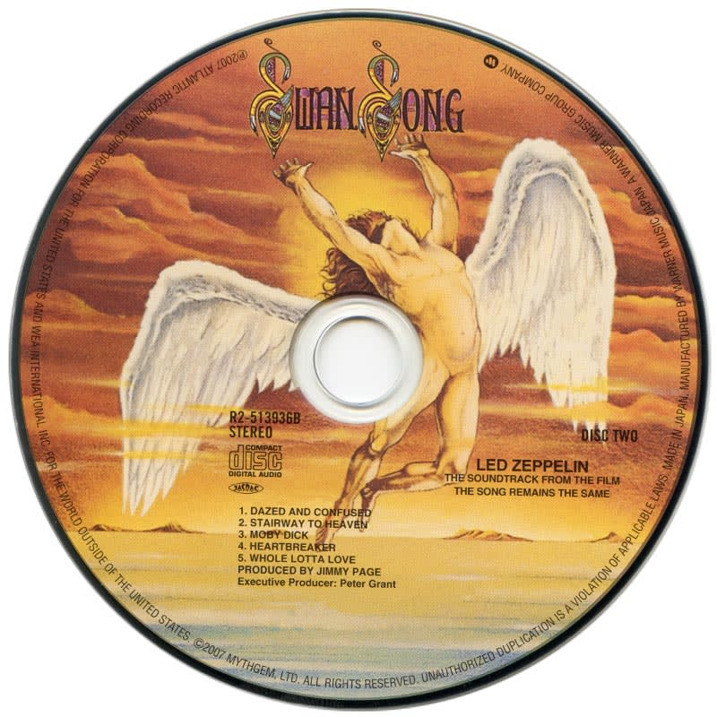 Led Zeppelin - The Song Remains The Same (1976) CD 2