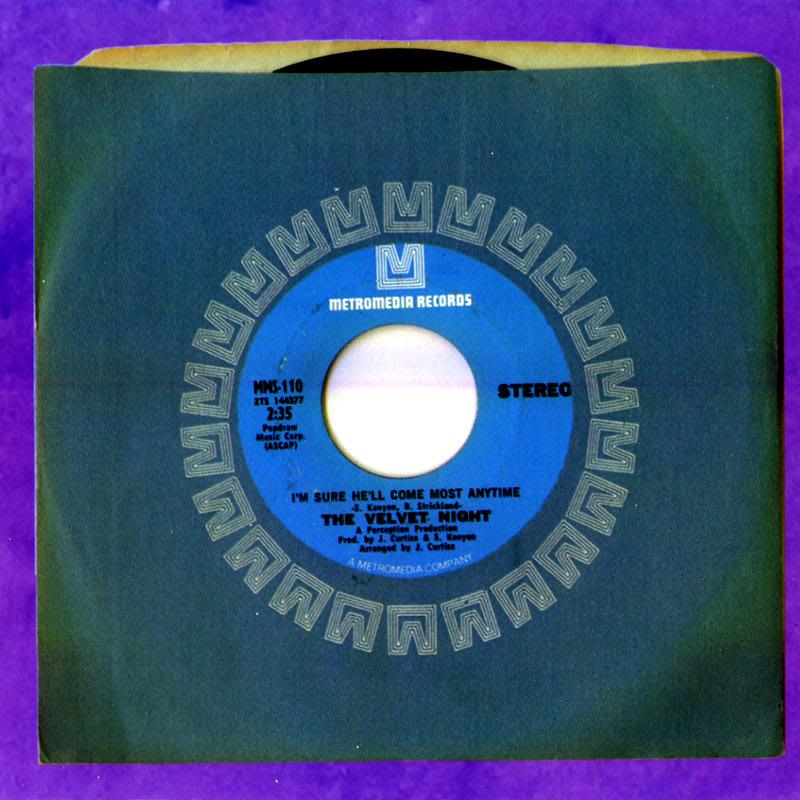 Velvet Night - Velvet Night (1970) Booklet