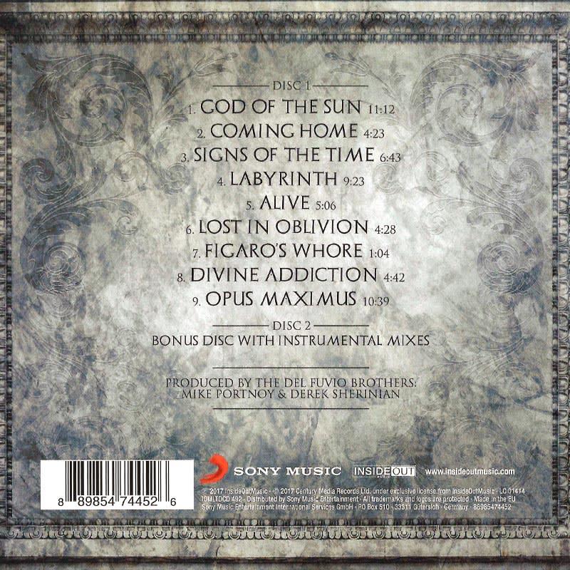 Sons Of Apollo – Psychotic Symphony [2017] Back