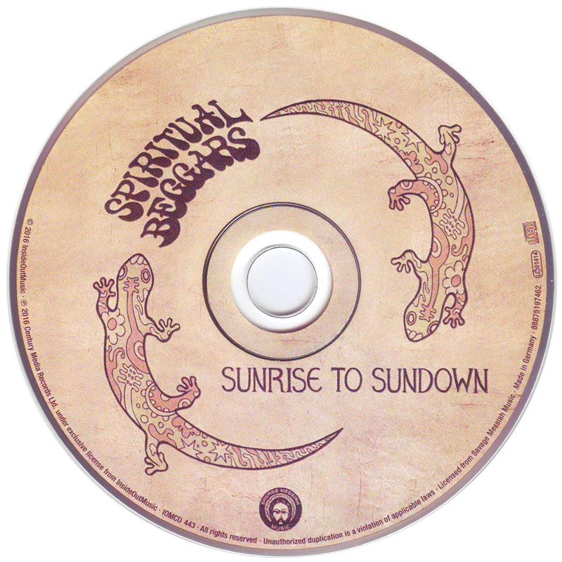 Spiritual Beggars - Sunrise To Sundown (2016) CD1