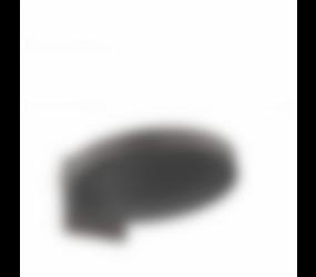 Baderie - Rainfinity geborsteld zwart chroom