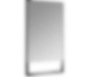 Langwerpige spiegel met planchet