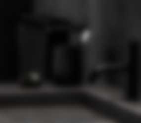 Baderie - zwarte wastafelkraan