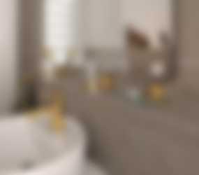 Goud in de badkamer