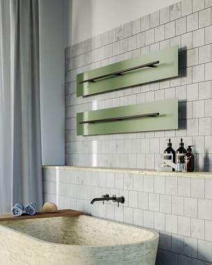 Gedurfd design in de badkamer!