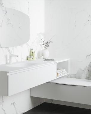 Stijlstatement voor de badkamer